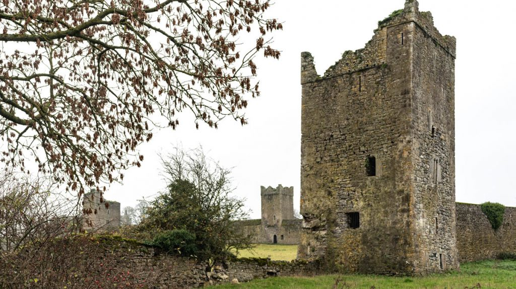 Kells Priory, Ireland and its seven towers