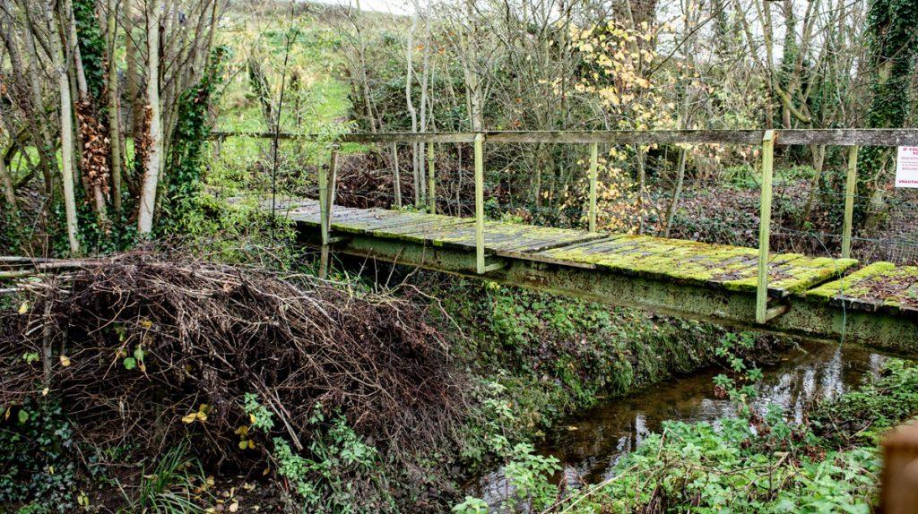 Mossy bridge at Hutchinsons Mill, Kells, Ireland
